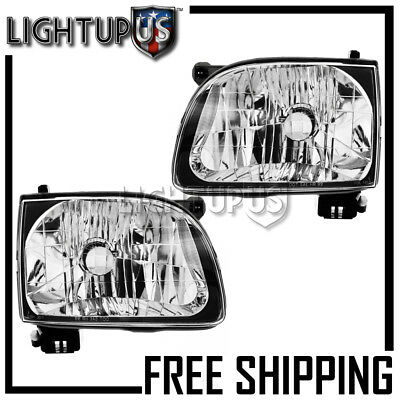 $63.72 • Buy 2001-2004 TOYOTA TACOMA PICKUP Left Right Sides Pair Headlights Headlamps