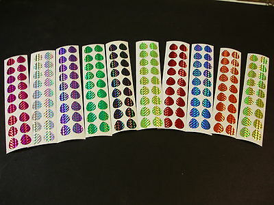 $3.99 • Buy  #3 Colorado Blade 40 PCS Holo Prism Die Cuts In 10 Colors Fishing Lure Tape