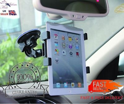 Car Lorry Truck Van Screen Suction Mount Holder For IPad&All Other 6To11 Tablets • 5.76£