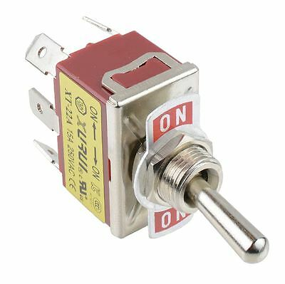 On-On DPDT Toggle Switch 250V AC 15A • 2.49£