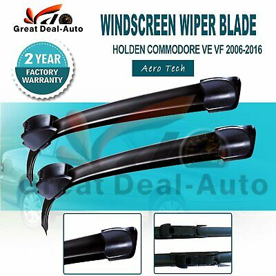 AU23.50 • Buy Windscreen Wiper Blades Aero Tech Suit HOLDEN Commodore VE VF 2006 On (L+R)