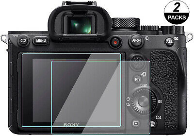 $ CDN10.19 • Buy A7iii Screen Protector For Sony A7RIV A7RIII A7RII A7III, 9H Tempered Glass 2PCS