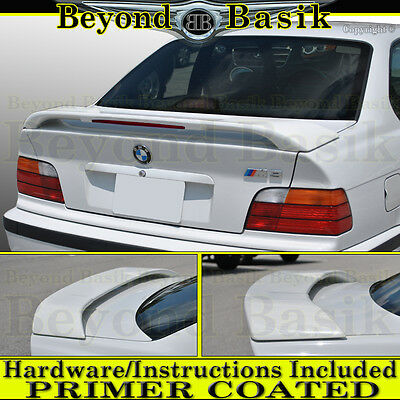 $149.99 • Buy 1992-1998 BMW 3 Series E36 Factory M3 Style Spoiler Wing W/LED PRIMER