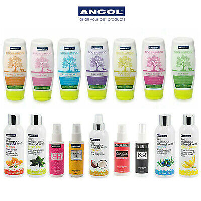 Ancol Luxury Dog Puppy Shampoo Conditioner Cologne All Scents  • 7.99£