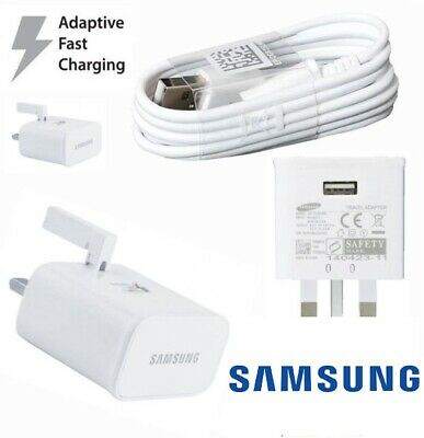 $ CDN11.45 • Buy 100% GENUINE FAST CHARGER PLUG & CABLE  SAMSUNG GALAXY S7 S6 EDGE S8 S9 S10 Note
