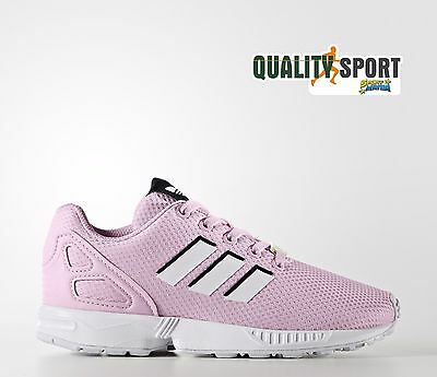 big sale d8795 52953 Adidas Zx Flux C Rosa Bambina Scarpe Sportive Sneakers BY9852 • 41.99€