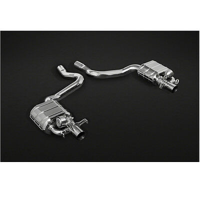 $5510 • Buy Capristo Mercedes C43 AMG T-Model S205 Valved Exhaust System Mid-Pipe & Remote