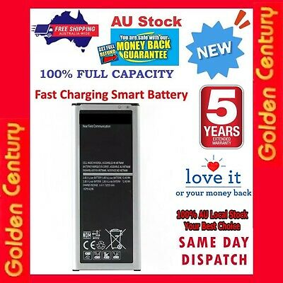 AU14.98 • Buy NEW Li-ion 3220mAh Battery For Samsung Galaxy Note 4 N910G N9100