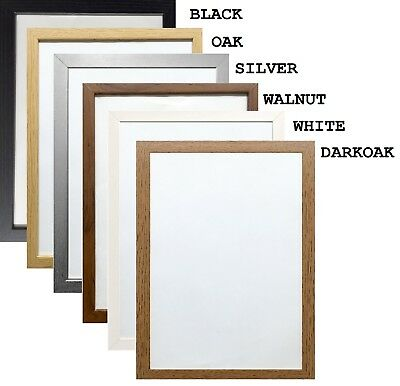 £9.99 • Buy Picture Frame Modern Poster Frame Photo Frames Wood Effect Various Square Sizes