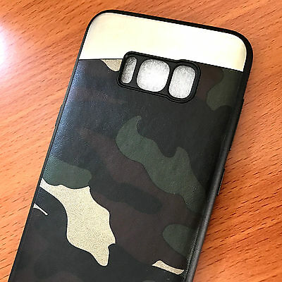 $ CDN9.73 • Buy For Samsung Galaxy S8+ PLUS - Magnetic Backplate Camo Green Army TPU Rubber Case