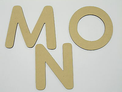 AU4.90 • Buy 20cm Large MDF Wood Letter Words Wood Letters Alphabet Name VAN