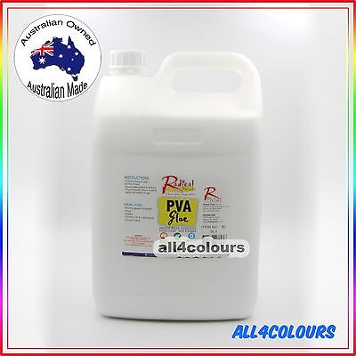 AU33.50 • Buy 5L PREMIUM NON TOXIC PVA Glue  For SLIME Non Staining Washable Adhesive OZ Made