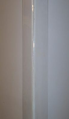 Wall Corner Guard Protector Various Lengths  Clear Plastic Drilled / Undrilled  • 9.68£