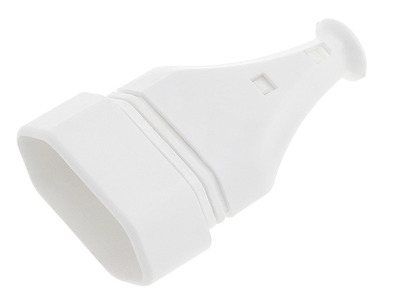 Rewireable White Euro European EU Socket 2.5 A 250V • 3.99£
