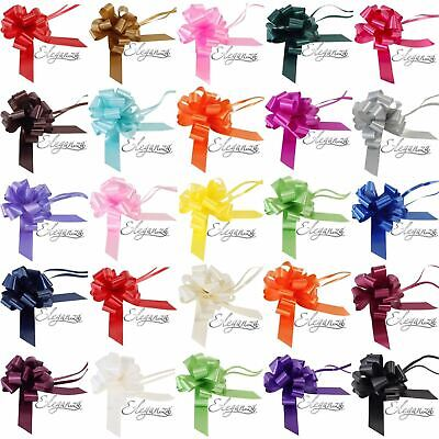 £1.50 • Buy Large 50mm Pull Bow Quality Gift Present Wrap Ribbon Wedding Car Birthday Party