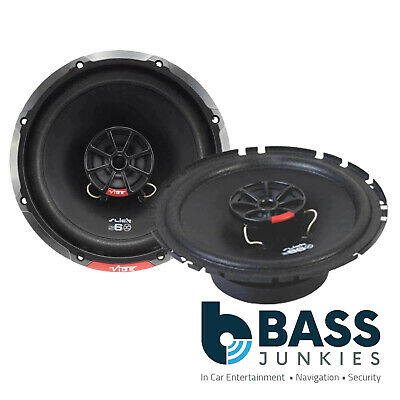 Vibe 480Watts Pair 17cm 2Way Front Door Speakers Kit For Toyota Avensis Mk3 T270 • 44.99£