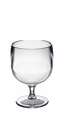 $47.01 • Buy Set Of Roltex Unbreakable Reusable Polycarbonate Plastic STACKING Wine Glasses