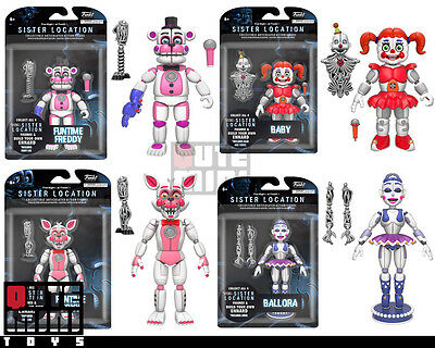 AU554.99 • Buy Funko Five Nights At Freddy's Sister Location Set Of 4 Ennard 5  Action Figures
