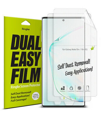 $ CDN10.95 • Buy Samsung Galaxy Note 10/9/8/S9/S8/Plus Screen Protector   Ringke [Full Coverage]