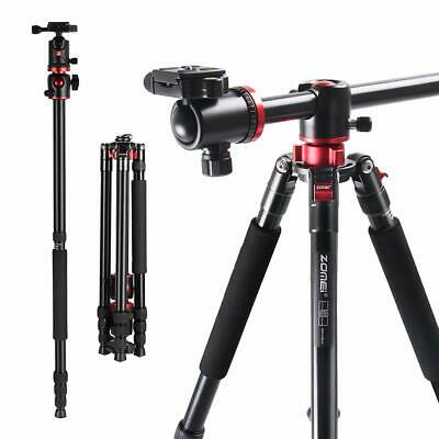 AU143.87 • Buy Heavy-Duty Transverse Camera Tripod Monopod Ball Head For DSLR Camera Camcorder