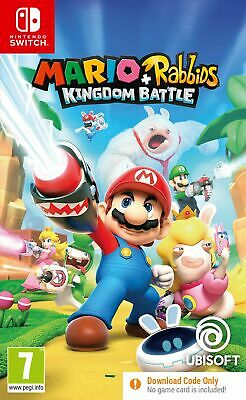 Mario + Rabbids Kingdom Battle CODE IN A BOX (Switch) Brand New & Sealed  UK PAL • 22.99£