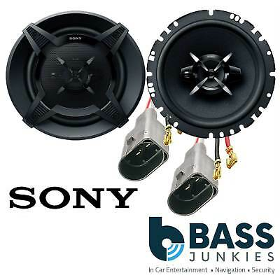 VW Polo 6N2 1999-2001 SONY 3 Way 17 Cm 540 Watts Front Door Car Speakers & Wires • 44.95£