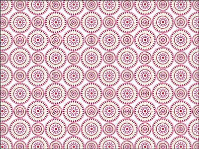 £3.49 • Buy Pink Geometric Pattern Background Edible Cake Topper Wafer Icing Decoration