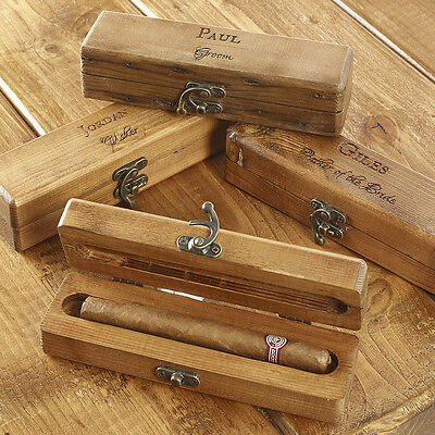Father Of The Bride Gifts Personalised Wooden Cigar Box  • 35.95£