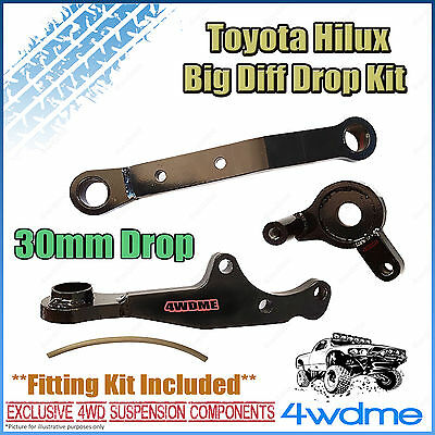 AU540 • Buy For Toyota Hilux N80 GUN126 Front Direct Bolt In Diff Drop Kit 2-4  Lift