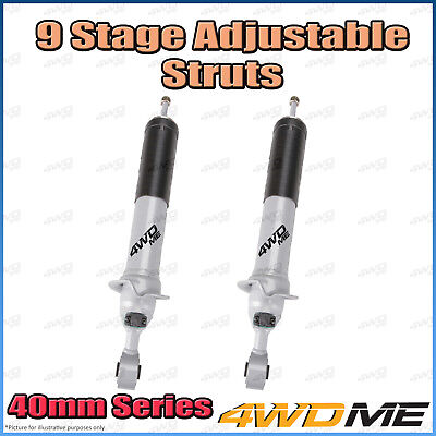 AU570 • Buy Pair Toyota Hilux N80 GUN126 4WD Front 9 Stage BM Shock Absorbers 2  40mm Lift