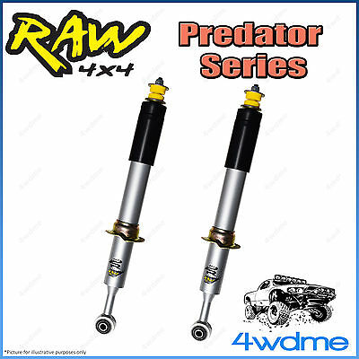 AU410 • Buy For Toyota Hilux N80 REVO 4WD RAW Front Predator Shock Absorbers 2  0-50mm Lift