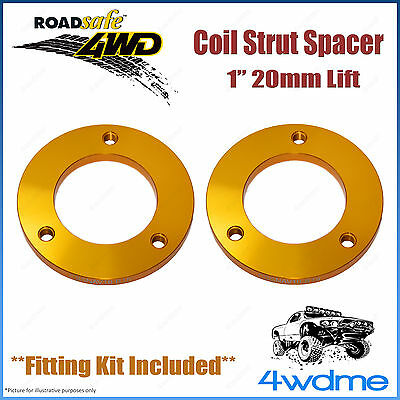 AU110 • Buy Pair Fits Toyota Hilux GUN126 N80 4WD Roadsafe Front Coil Strut Spacer 1  20mm