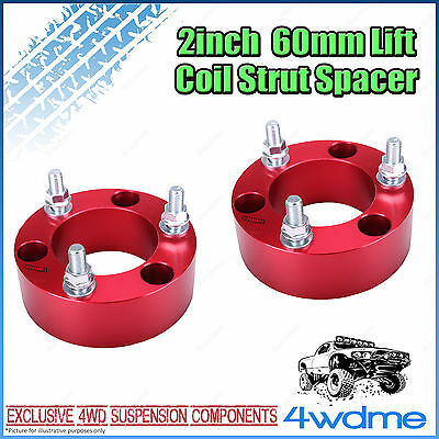 AU150 • Buy Pair Fits Toyota Hilux GUN126 N80 4WD Front Coil Strut Spacer 2  60mm Lift