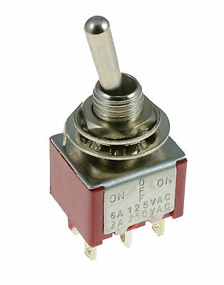 On/Off/On 3-Position Mini Toggle Switch Car Dash Dashboard DPDT 12V    • 1.95£