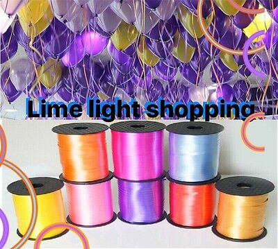 £2.99 • Buy Wedding Curling Ribbon-30m-50m-100m-for Party 25 Colours String Tie Ribbons