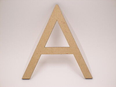 AU1.70 • Buy 10cm Large MDF Wooden  Words Wood Letters Alphabet Name Wedding Home Decor CG