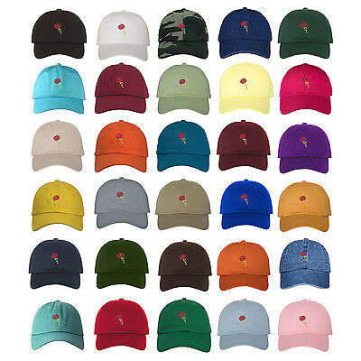 £11.61 • Buy ROSE LOVE Dad Hat Embroidered Rosaceae Flowers Baseball Caps - Many Available