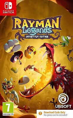 £12.99 • Buy Rayman Legends Definitive Edition CODE-IN-A-BOX (Nintendo Switch) New & Sealed