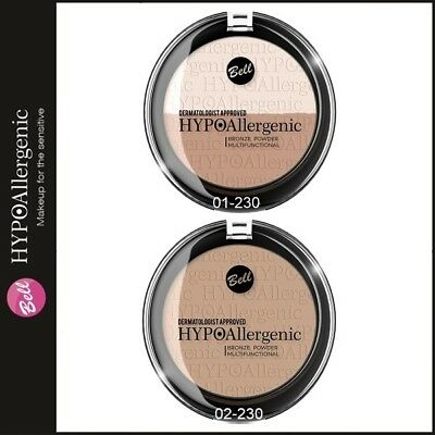 Bell HYPOAllergenic BRONZE Powder Natural Looking Tan For Sensitive Skin 230 • 5.69£