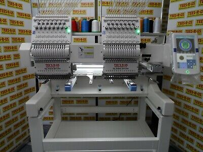 Single/Twin Head Great Value Industrial 15 Needle Embroidery Machine • 9,600£