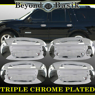 $15.95 • Buy 2003-2017 LINCOLN NAVIGATOR Chrome Door Handle Covers Trims No Passenger Keyhole