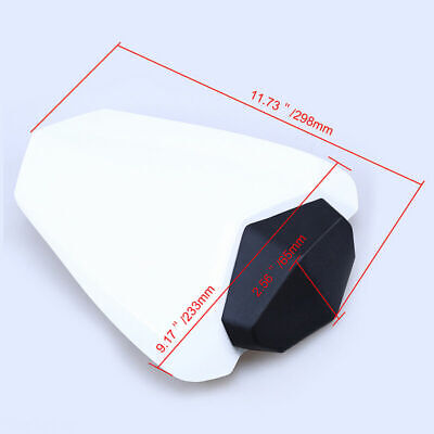 $43.51 • Buy Rear White Pillion Cowl Cover Passenger Seat For Yamaha YZF R1 2009-2014 2004-06