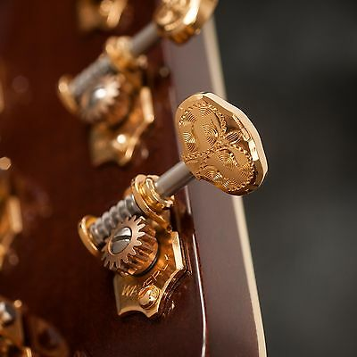$ CDN506.39 • Buy Waverly Guitar Tuners With Engraved Knobs, For Solid Pegheads