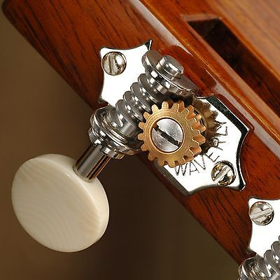 $ CDN207.82 • Buy Waverly Guitar Tuners With Ivoroid Knobs, For Slotted Pegheads, Nickel, 3L/3R