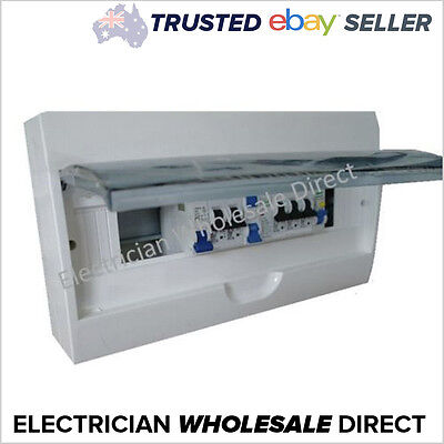 AU144.89 • Buy Switchboard Combination For UNIT 18 Pole Surface/ Flush, RCD MCB Loaded
