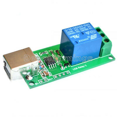 AU4.47 • Buy 5V USB Relay 1 Channel Programmable Computer Control For Smart Home Module NEW
