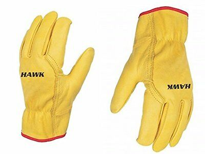 Unisex Leather Work Working Driving Gloves - Premium Quality - Driver/Lorry/Car  • 4.49£