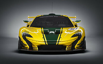 AU12.99 • Buy MCLAREN F1 GTR FRONT VIEW A4 POSTER GLOSS PRINT LAMINATED 11.7  X 7.3