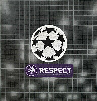 £8 • Buy UEFA Champions League Starball & Purple RESPECT Sleeve Patches/Badges 2009-2011