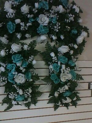 $75 • Buy White Silk Wedding Flowers Roses Arch  Decor Centerpieces Any Color Rush Orders